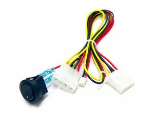 Cold Cathode Rocket Switch Kit - Click to enlarge