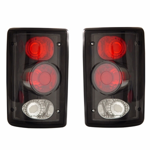 Ford Excursion 00-05 / Econoline Van 95-03 Tail Light Black - Click to enlarge