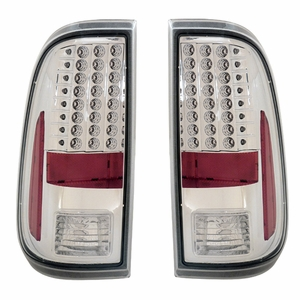 Ford F-250 / Super Duty 08-Up L.E.D Tail Light All Chorme - Click to enlarge