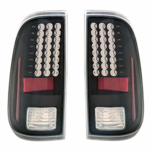 Ford F-250 / Super Duty 08-Up L.E.D Tail Light Black - Click to enlarge