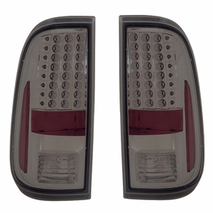 Ford F-250 / Super Duty 08-Up L.E.D Tail Light Smoke - Click to enlarge
