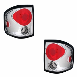 Ford F-150 04-06 Tail Light Chrome (Flareside) - Click to enlarge