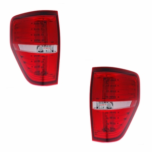 Ford F-150 09-Up L.E.D Tail Light Red / Clear - Click to enlarge