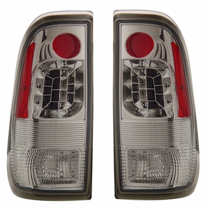 Ford F-150 97-03 L.E.D Tail Light Chrome - Click to enlarge