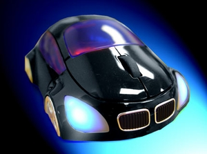 M-Coupe Black Optical Mouse - Click to enlarge