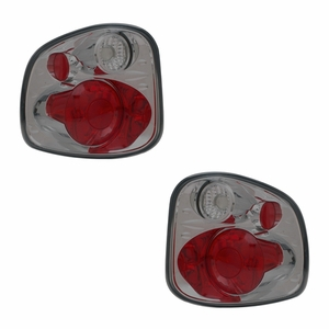 Ford F-Series Flare Side 97-03 Tail Light Version 2 Smoke - Click to enlarge