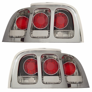 Ford Mustang 94-98 Tail Light Chrome - Click to enlarge