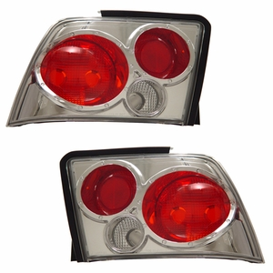 Ford Mustang 99-04 Tail Light Chrome - Click to enlarge