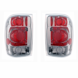 Ford Ranger 98-01 Tail Light G2 Chrome - Click to enlarge