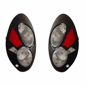 Chrysler P.T Cruiser 01-06 Tail Light Black - Click to enlarge