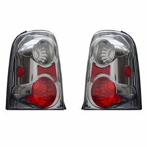 Ford Escape 01-02 Tail Light Chrome - Click to enlarge