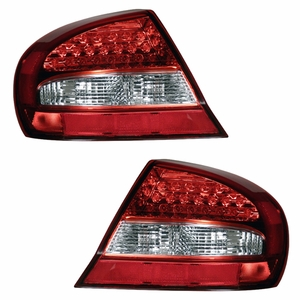 Chrysler Serbing 03-05 L.E.D 2DR Tail Light Red / Clear - Click to enlarge