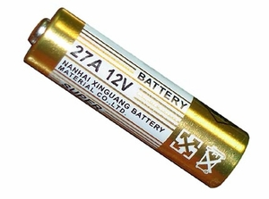 27A 12V DC Remote Control Battery - Click to enlarge