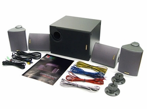 Amadeus 4.1 Home Theater Surround Speaker System - Click to enlarge