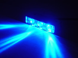 Blue 3 LED Spotty Light - Click to enlarge