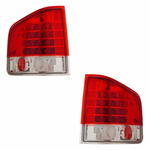 Chevy S-10 / G.M.C Sonoma 94-04 L.E.D Tail Light Red / Clear - Click to enlarge