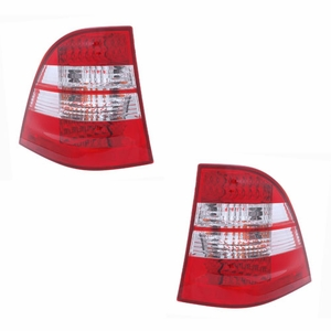 MBZ M Class W163 98-05 L.E.D Tail Light Red / Clear - Click to enlarge
