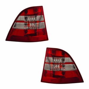 MBZ M Class W163 98-05 Tail Light Red / Clear - Click to enlarge