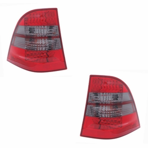 MBZ M Class W163 98-05 L.E.D Tail Light Red / Smoke - Click to enlarge