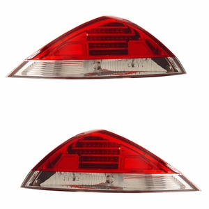 Honda Accord 03-05 2DR L.E.D Tail Light Red / Clear - Click to enlarge