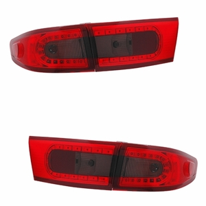 Honda Accord 03-05 4DR / Hybrid 05 L.E.D Tail Light Red / Smoke 4Pcs - Click to enlarge