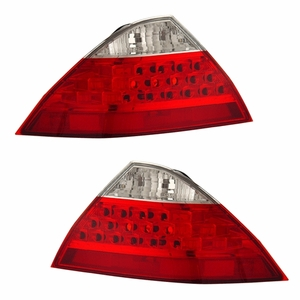 Honda Accord 06-07 4DR Tail Light Red / Clear (No L.E.D Kit) - Click to enlarge