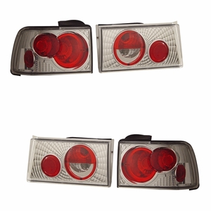 Honda Accord 90-91 Tail Light G2 Chrome - Click to enlarge