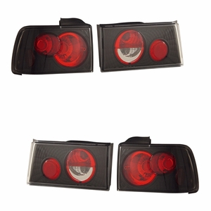 Honda Accord 90-91 Tail Light G2 Black - Click to enlarge