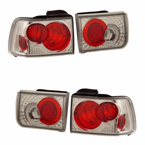Honda Accord 92-93 Tail Light G2 Chrome - Click to enlarge