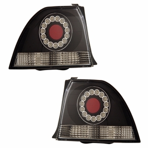 Honda Accord 94-95 2/4DR L.E.D Tail Light Black - Click to enlarge