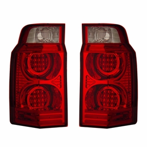 Jeep Commander 06-07 L.E.D Tail Light Red / Clear - Click to enlarge