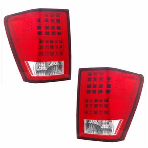 Jeep Grand Cherokee 05-06 L.E.D Tail Light Red / Clear - Click to enlarge