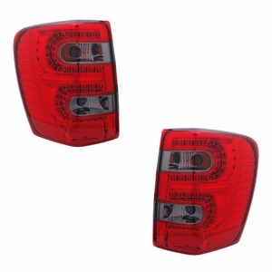 Jeep Grand Cherokee 99-04 L.E.D Tail Light Red / Smoke - Click to enlarge
