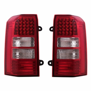 Jeep Patriot 07 L.E.D Tail Light Red / Clear - Click to enlarge