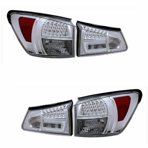 Lexus IS250 / 350 06-09 L.E.D Tail Light All Chrome - Click to enlarge