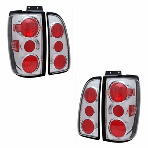 Lincoln Navigator 98-02 Tail Light Chrome - Click to enlarge