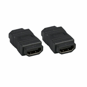 HDMI Female to HDMI Female Gender Changer Adapter Black - Click to enlarge