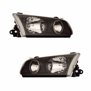 Toyota Camry 00-01 Head Light Halo Black - Click to enlarge