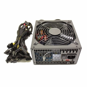 875 Watt 120mm Fan Modular ATX Power Supply 12V 2.3 EPS12V PCI-E SLI Ready SATA 20/24 PIN by KenTek - Click to enlarge