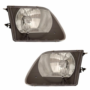 Ford F-150 97-03 Head Light G2 Black - Click to enlarge