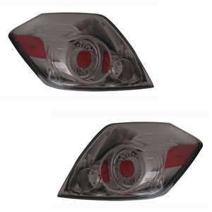 Nissan Altima 07-09 L.E.D Tail Light 4DR All Smoke - Click to enlarge