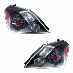 Nissan Altima 08 Up L.E.D Tail Light 2DR Black - Click to enlarge