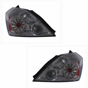 Nissan Altima 08 Up L.E.D Tail Light 2DR Smoke - Click to enlarge