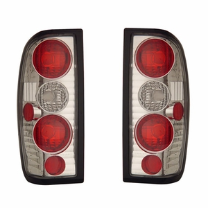 Nissan Frontier 98-04 Tail Light Chrome - Click to enlarge