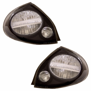 Nissan Maxima 00-01 Tail Light Black - Click to enlarge
