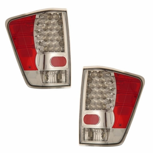 Nissan Titan 04-09 L.E.D Tail Light Chrome - Click to enlarge
