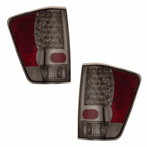 Nissan Titan 04-09 L.E.D Tail Light Smoke Lens - Click to enlarge