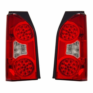 Nissan XTerra 05-07 L.E.D Tail Light Red / Clear - Click to enlarge