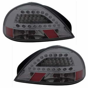 Pontiac Grand AM 99-05 L.E.D Tail Light Smoke - Click to enlarge