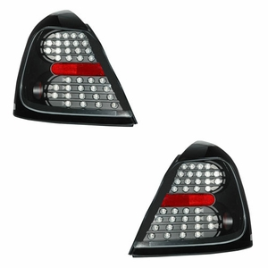 Pontiac Grand Prix 04-07 L.E.D Tail Light Black - Click to enlarge